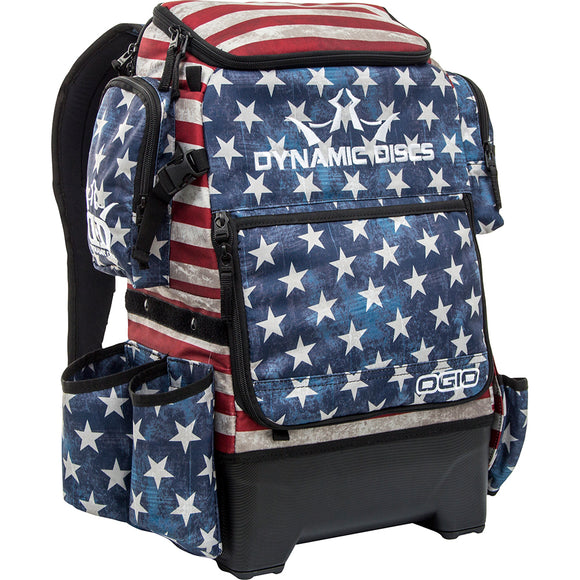 Dynamic Discs Ranger H20 Disc Golf Backpack Stars and Stripes