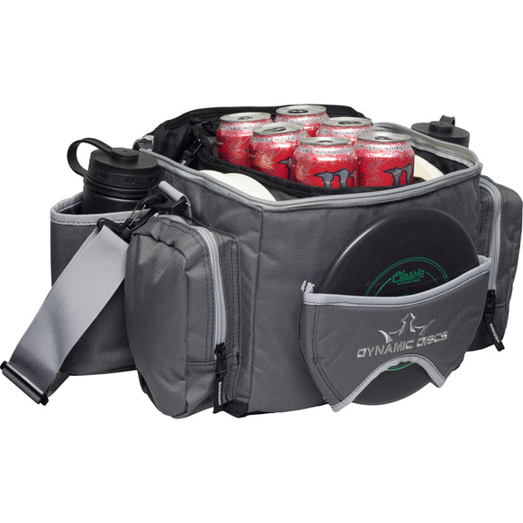 Dynamic Discs Soldier Cooler Disc Golf Bag Dark Gray