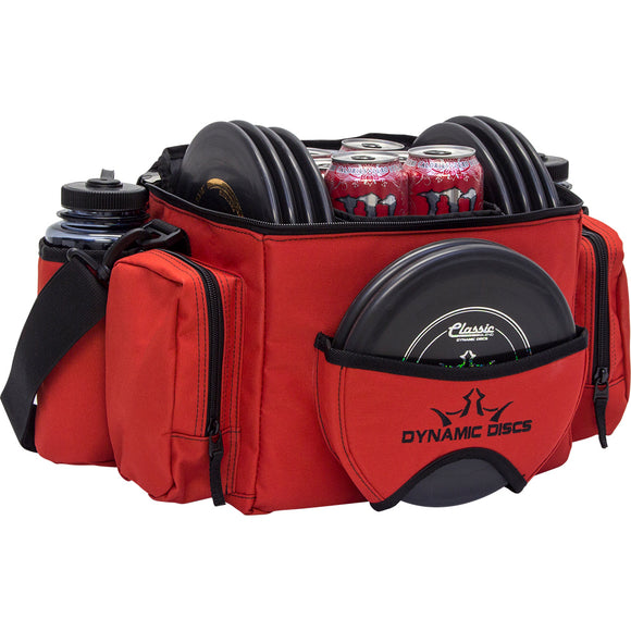 Dynamic Discs Soldier Cooler Disc Golf Bag Red