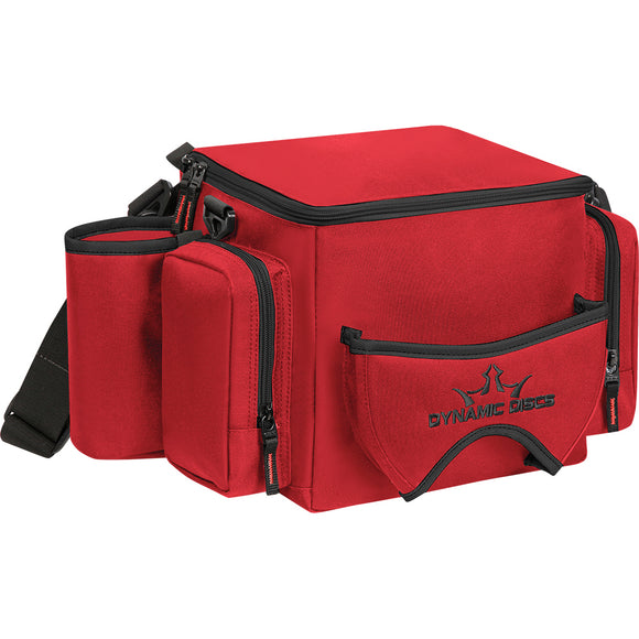 Dynamic Discs Soldier Disc Golf Bag Red