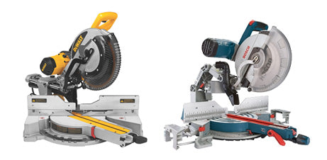 DeWalt vs. Bosch Sliding Compound Miter Saws
