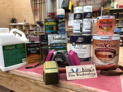 Polyurethane, Lacquer, Shellac, or Varnish? What do I use? What's the difference?