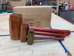 Thor's Hammer Woodworking Mallets Exotic wood collection