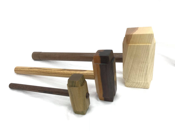 Medium size Thor's Hammer Woodworking Mallet all Exotic Wood