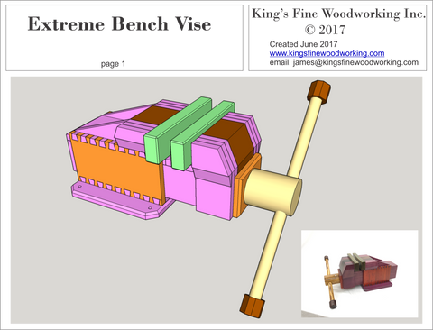 Extreme Bench Vise Plans