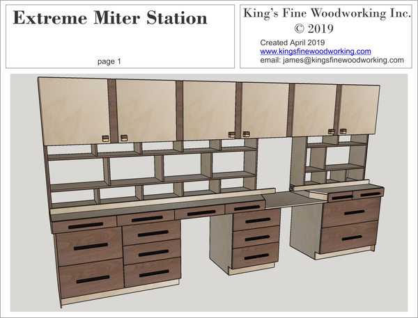 Plans for the Extreme Miter Station
