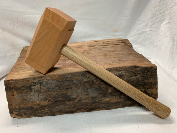 FULL SIZE - Woodworking Mallet like Thor's Hammer Mjolnir from Domestic Hardwoods