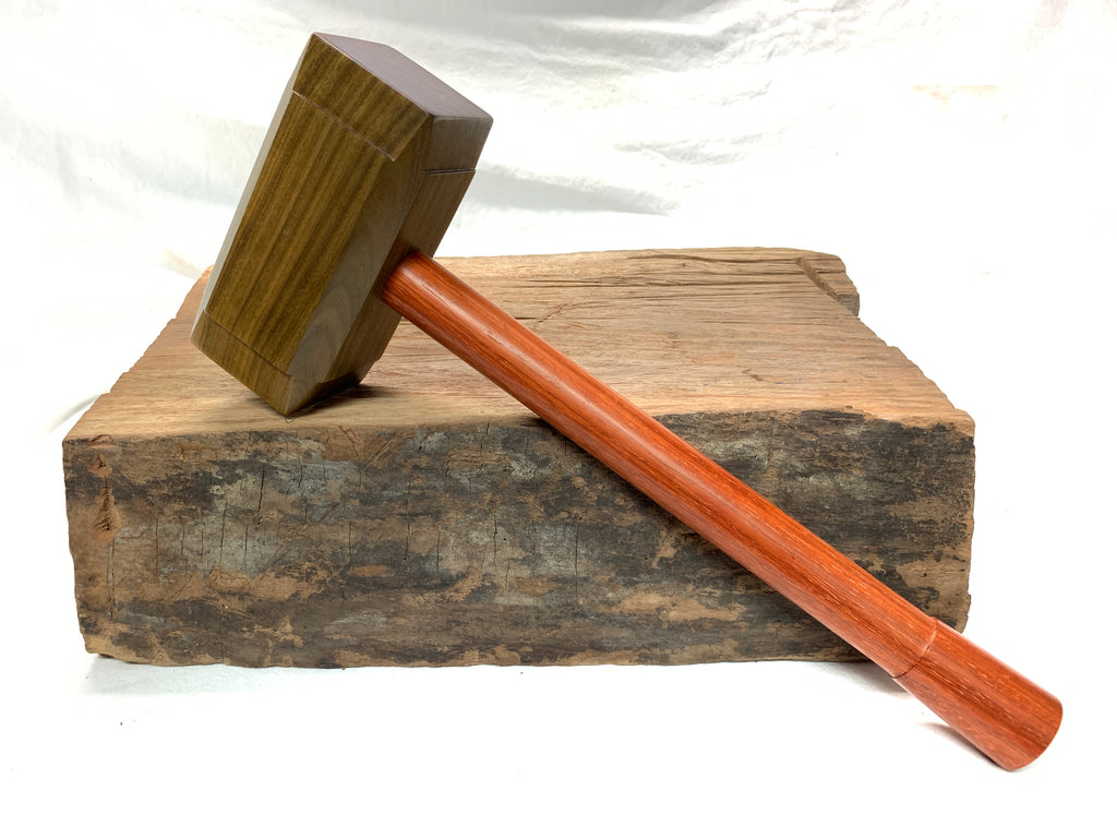 FULL SIZE -  Thor's Hammer Woodworking Mallet Mjolnir from Exotic Wood