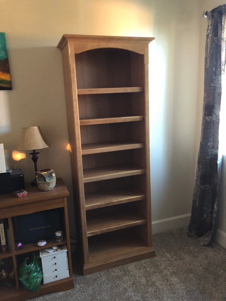 Standard Bookcase 6' tall 2' wide 3D Plans
