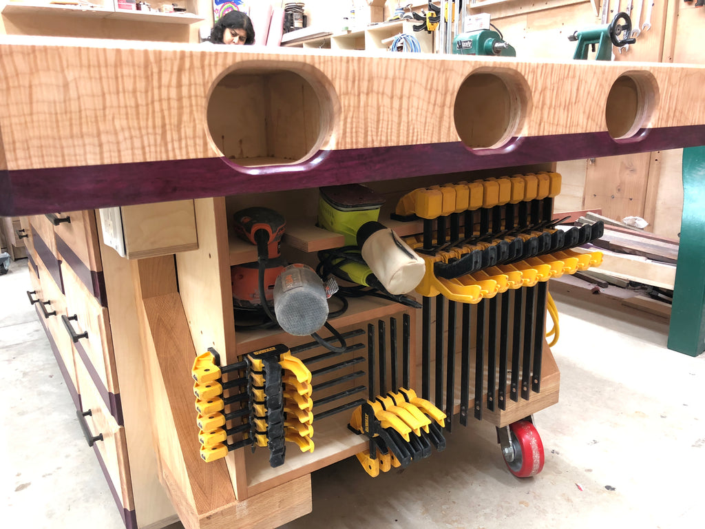 Extreme Torsion Box Assembly Table And Outfeed Workbench
