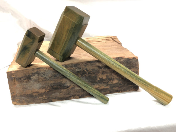 Mid Size Thor's Hammer Woodworking Mallet Lignum vitae Head lignum Handle full-size mid size