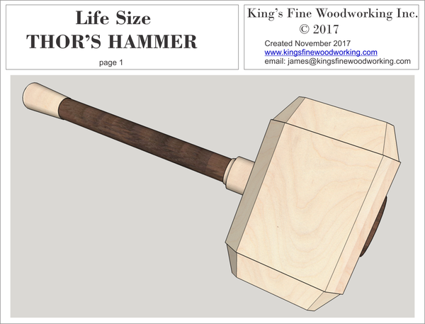THOR'S HAMMER Life Size
