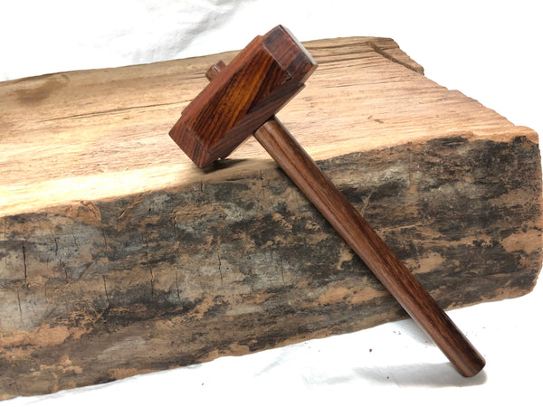 MICRO SIZE - Thor's Hammer Woodworking Mallet All Exotic Wood