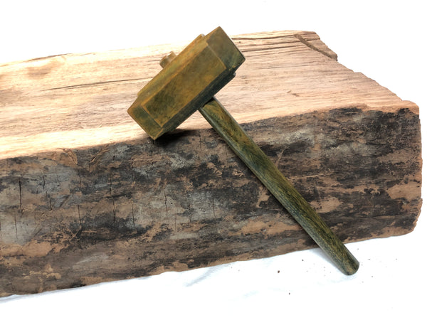 Micro Size woodworking Thor's hammer Mallet Lignum Head Handle