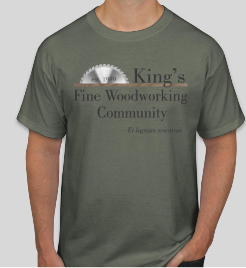 T-Shirt King's Fine Woodworking Community