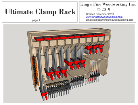 Plans for the Ultimate Clamp Rack