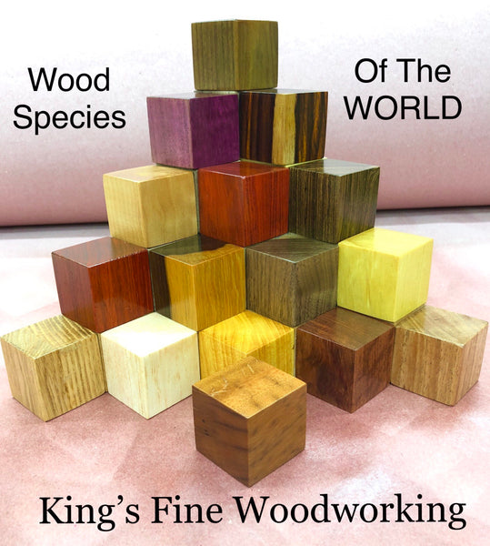 Wood Species of the World Collection!