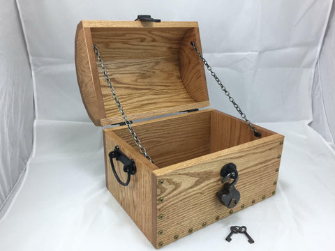Pirate's Treasure Chest Keepsake box