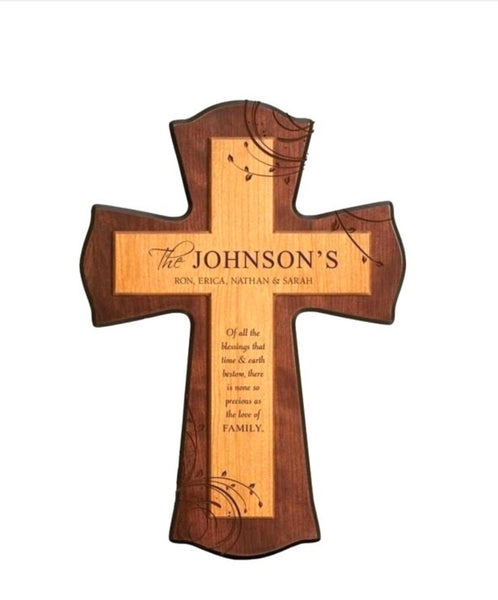Memorial Wall Mounted Cross