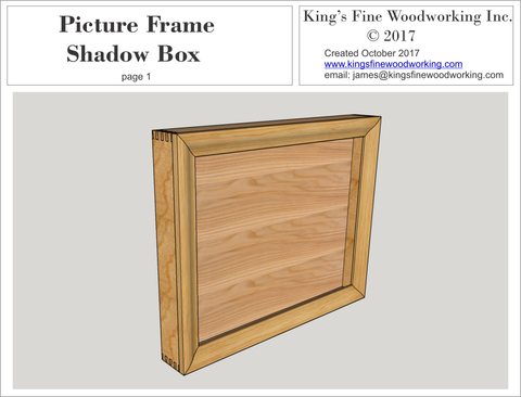 Project Plans for Sale – King's Fine Woodworking Inc