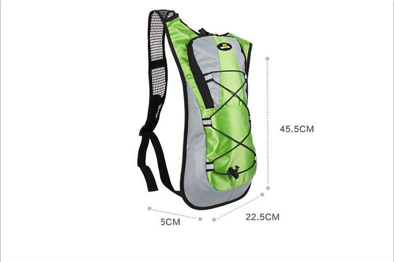 TPU 2 Liter Hydration Backpack Superlight for Hiking Running Cycling with Water Bladder