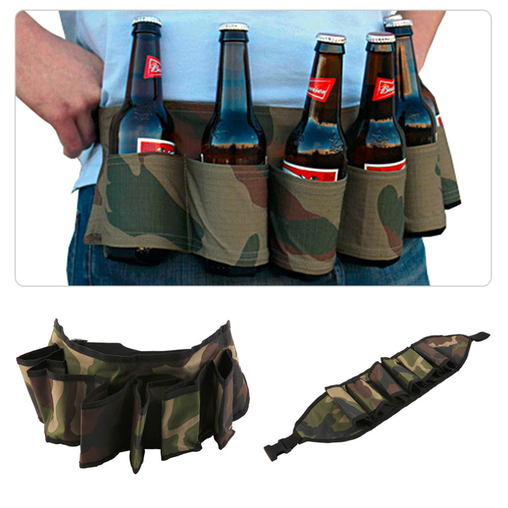 New 2018 Unisex Belt Designed To Carry A 6 Pack Of Your Favorite Beverage While Enjoying Activities
