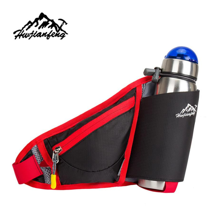 1PC Brand Outdoor Sports Running Bum Bag Travel Handy Hiking Sport Kettle Pack Waist Belt Zip Pouch Bag Water Bag#W21