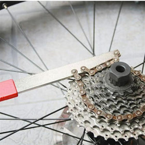 1 pc Bicycle Cassette Freewheel Remover Wrench Sprocket Chain Whip Repair Tool Hot sale #EW
