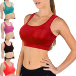 Professional Sports Quick Dry Fitness Women Yoga Top Sexy Push-up Sports Bra Yoga Fitness Vest Bra Workout Running Top Bra #E0