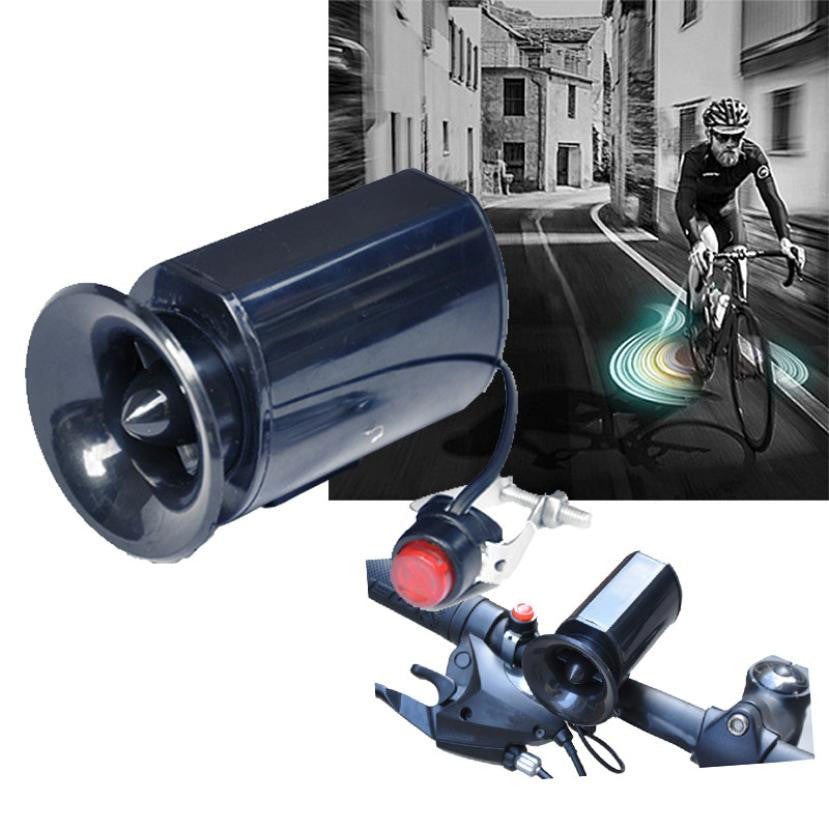 Bicycle Bike Ultra-loud Bell For Safety 6 Sound Horn Alarm Siren Speaker Electronic Bicycle Accessories #EW