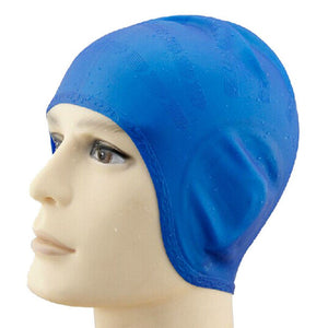 New Unisex Adult Silicone Swim Swimming Hat Cap Silicon Diving Waterproof Sports Swim Pool Hat  One Size Fit All
