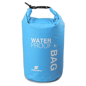 5L Ultra-portable Outdoor Travel Waterproof Dry Bag Pouch Phone Camera Storage Bag for Camping Boating Kayaking Rafting Fishing