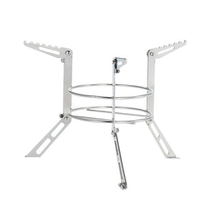 Portable Stainless Steel Camping Stove Stand Outdoor Alcohol Stove Rack Legs Support Cooking Equipment Accessory