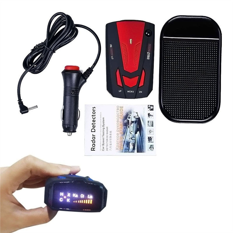 360 Degree Radar Detector 16 Band V7 GPS with Voice Alert