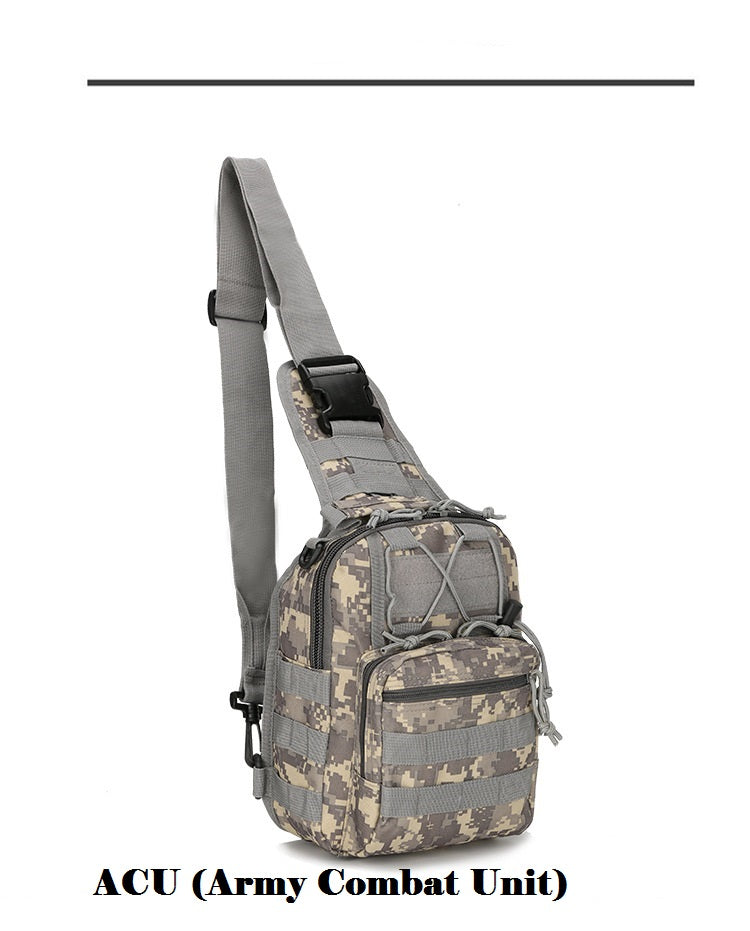 Military Style Shoulder Sling Bag  for Gear