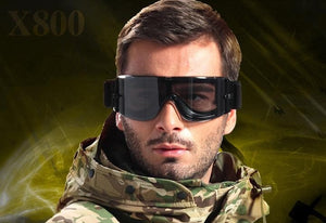 Military Airsoft X800 Tactical Goggles Tactical Sunglasses or Paintball Goggles