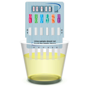 EZ LEVEL 6 Panel Urine Drug Tests