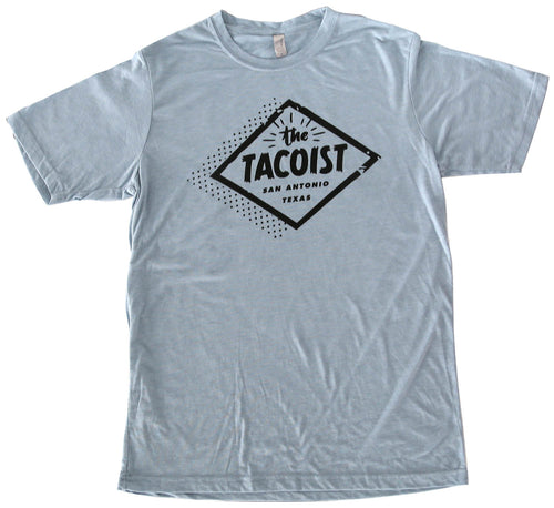 The Tacoist Logo T-shirt Blue