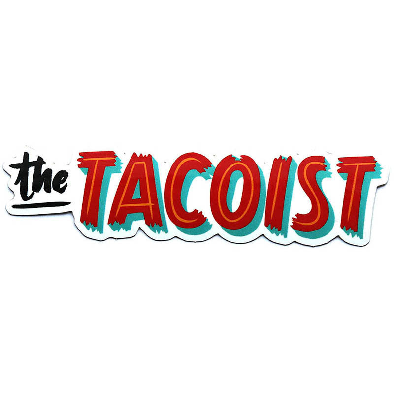 The Tacoist Logo Sticker