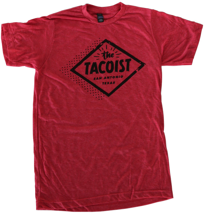 The Tacoist Logo T-shirt Red