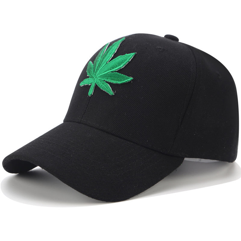 4c2a381c39c Embroidery Hemp Weed Dad Hats - HighDroMan