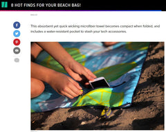 The Huffington Post - BeachTech Towel
