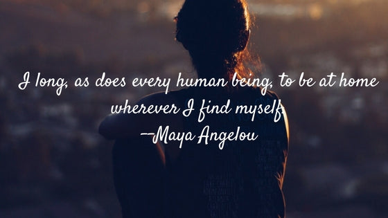 Hygge Quote: Maya Angelou