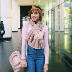 Kayla Mochi  - Beanie and Scarf