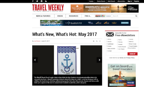 Travel Weekly - BeachTech Towel
