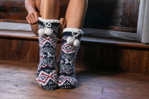 Essential Oil Infused Slipper Socks
