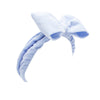 Cosmetic Headband, Knotted Bow Bow Blue