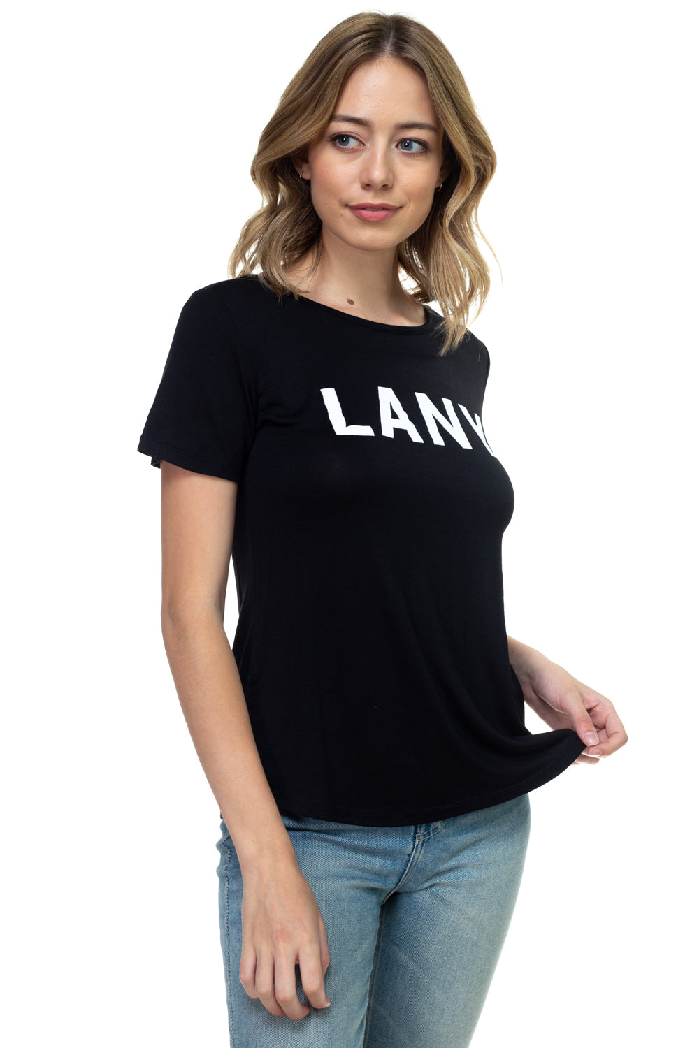 Strappy Back Tee - LANY