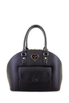 Jane Stone Clasp Dome Satchel