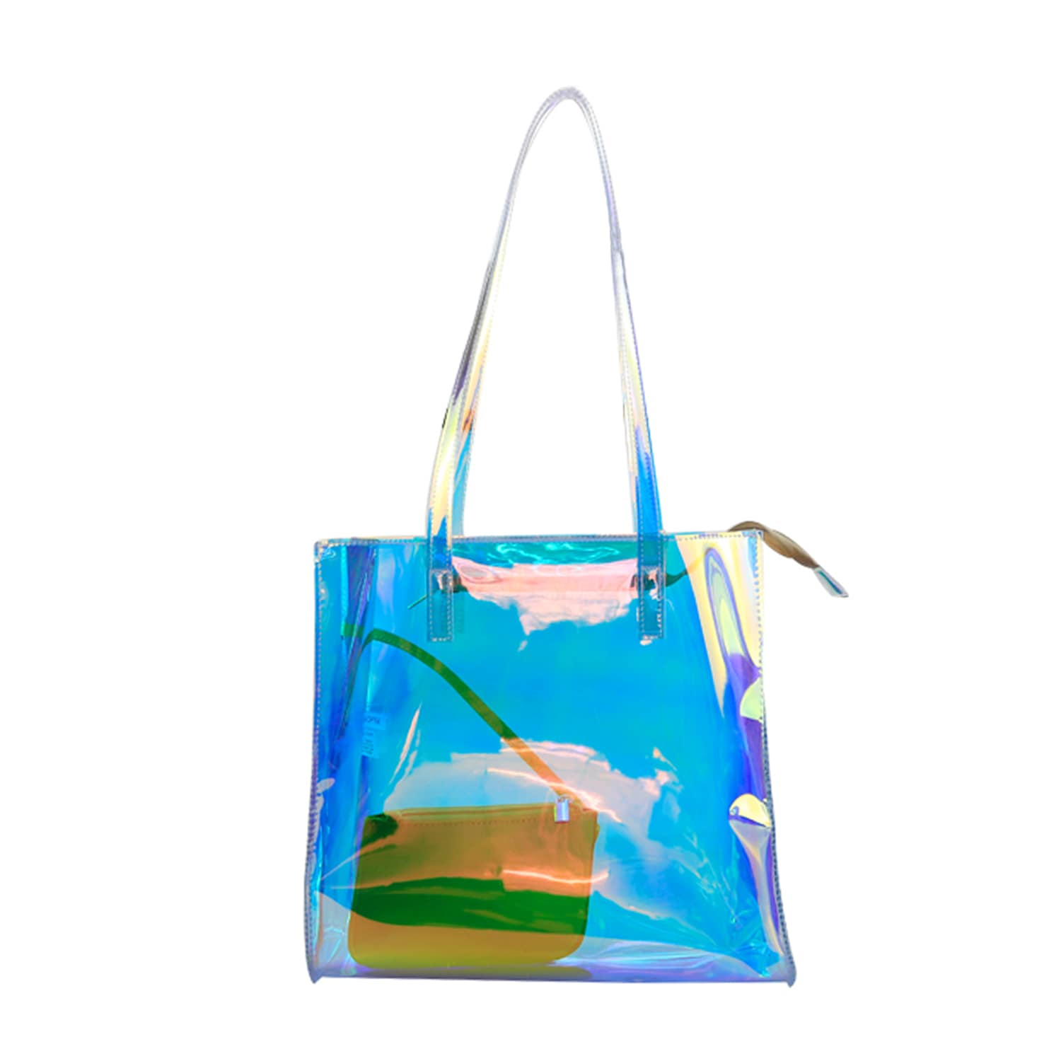 Rainbow Clear Tote - LANY
